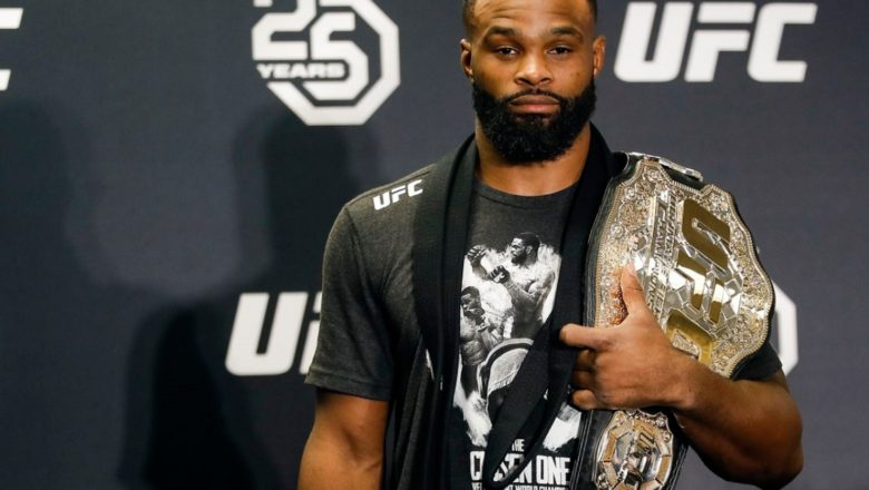 Тайрон Вудли против Гилберта Бернса: онлайн-трансляция UFC on ESPN 9