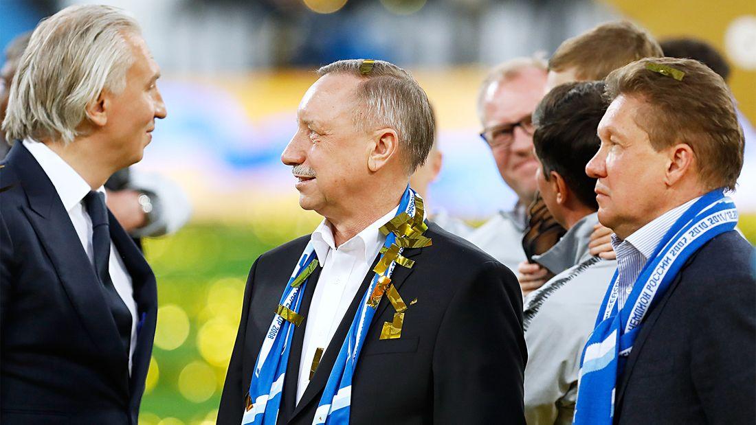 Болельщики «Зенита» освистали губернатора Петербурга Беглова