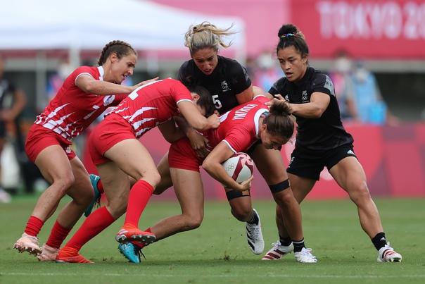 Российские регбистки проиграли команде Новой Зеландии в четвертьфинале Олимпийских игр